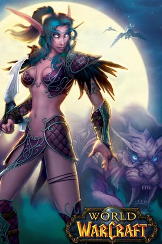 Hot World of Warcraft girl